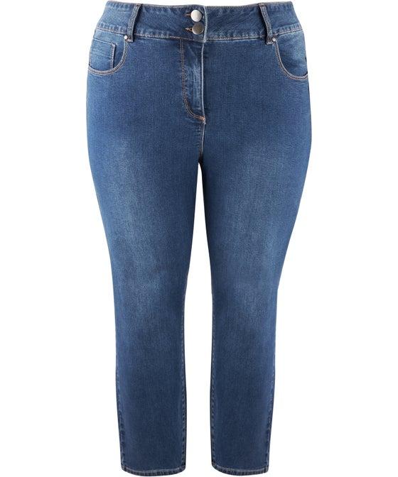 Women's Isobelle High Waist Double Button Jean