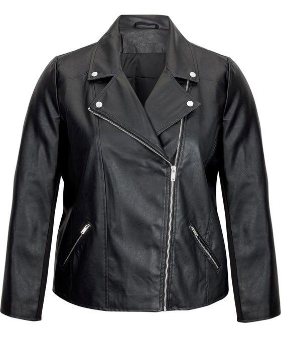 Women's Isobelle Pleather Biker Jacket