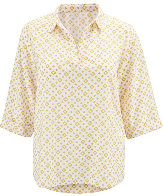 Women's Isobelle Plus Textured Drape Shirt