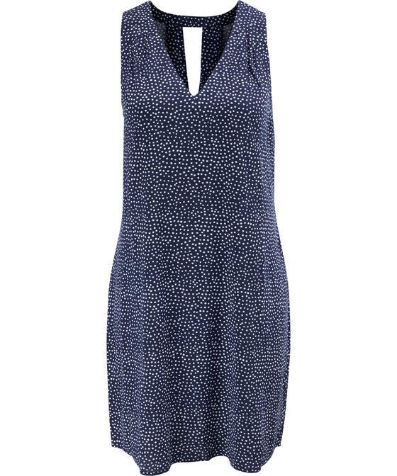 Womens' Keyhole Back Woven Dress