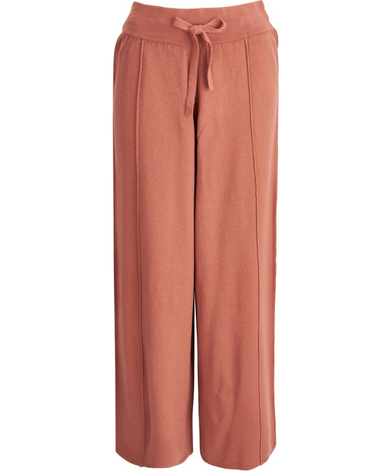 Women's Knitted Wide Leg Pant