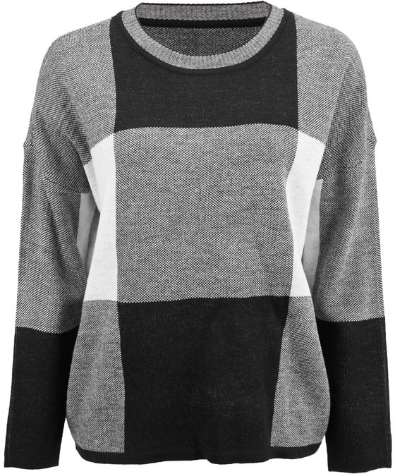 Women's Large Check Jumper