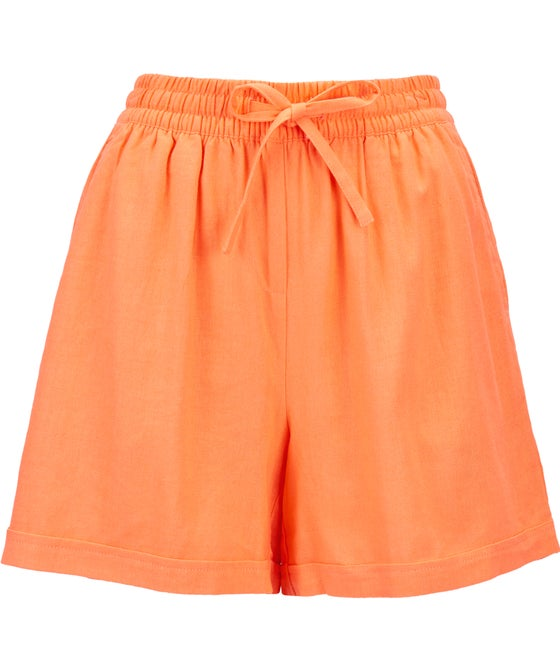 Women's Linen Blend Shorts