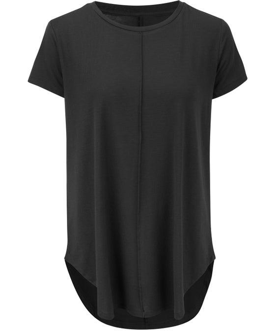 Women's Longline Curved Hem T-shirt