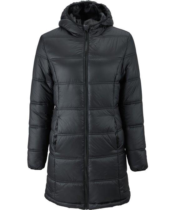 Women's Longline Hooded Puffer Jacket