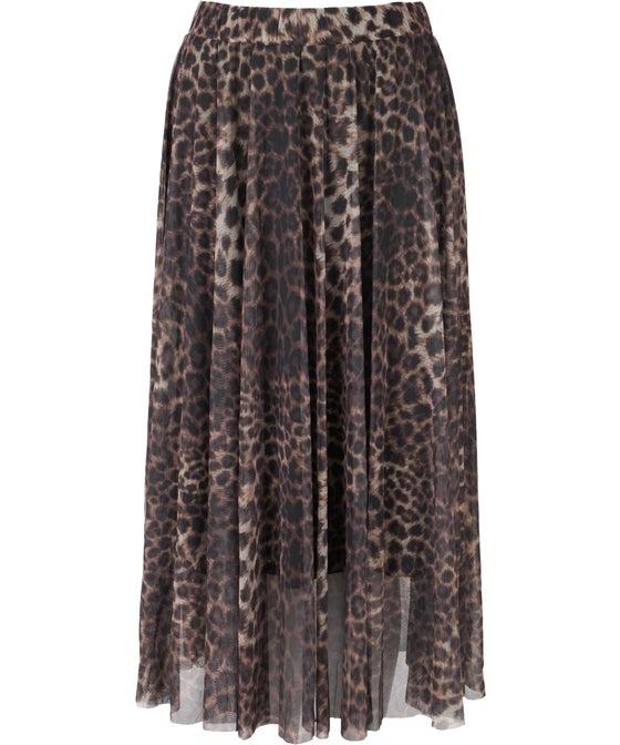Women's Mesh Animal Skirt