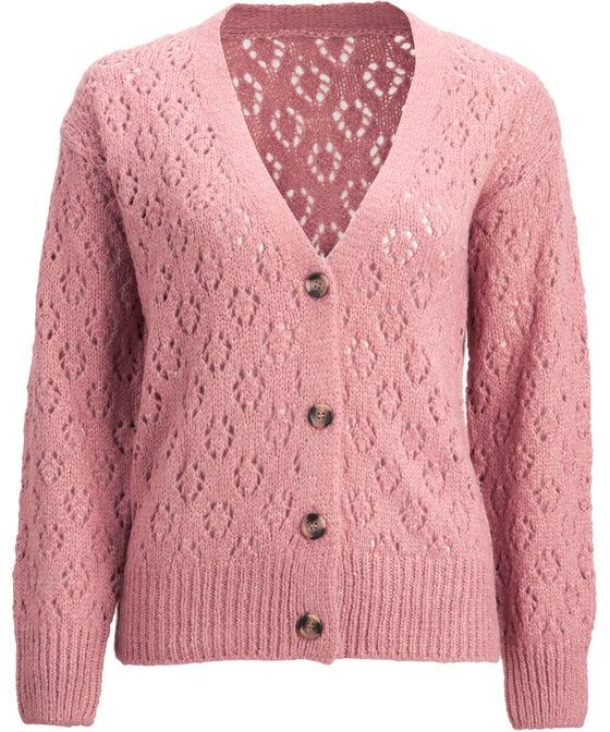 Women's Open Knit Cardi