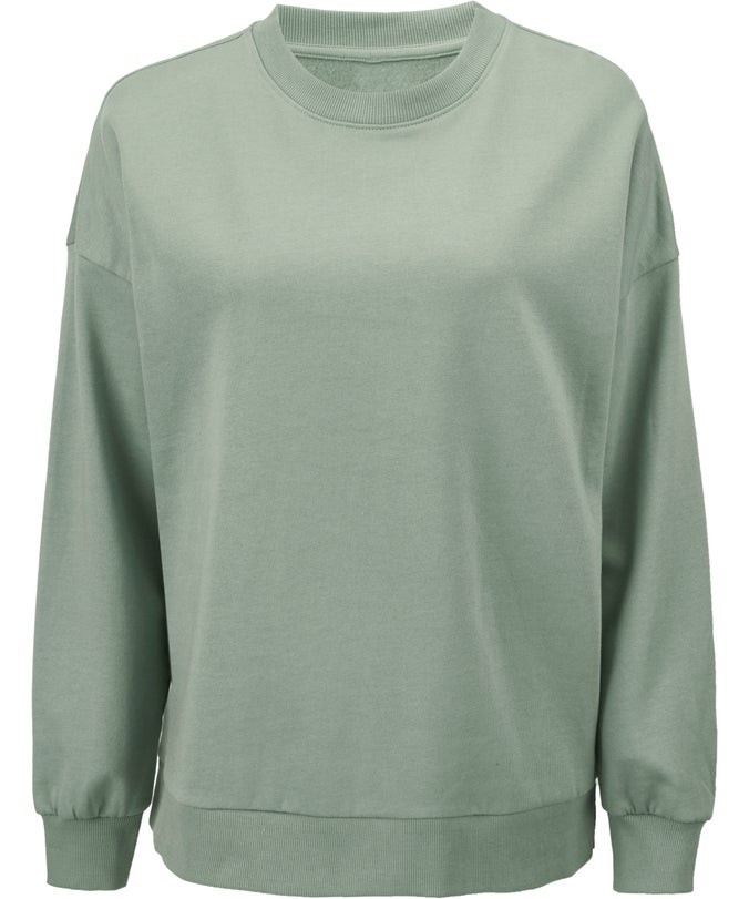 L Organic Cotton Crew Sweatshirt