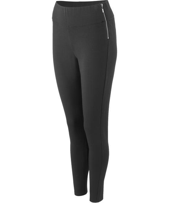 Women's Ponte Double Zip Pant