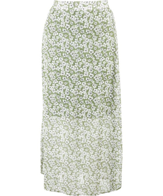 Women's Sheer Layer Skirt