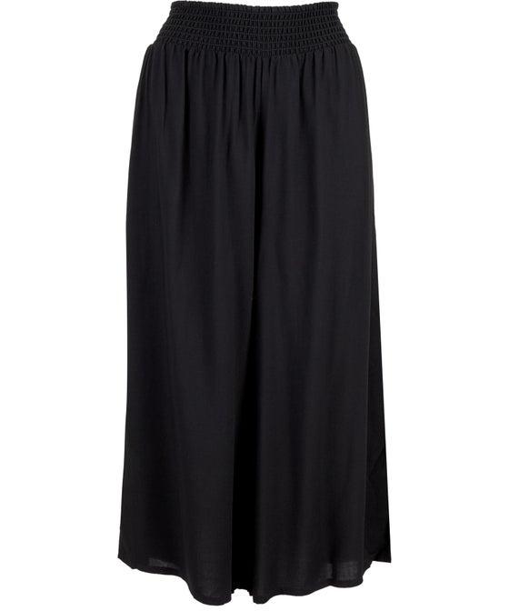 Women's Shirred Waist Culotte