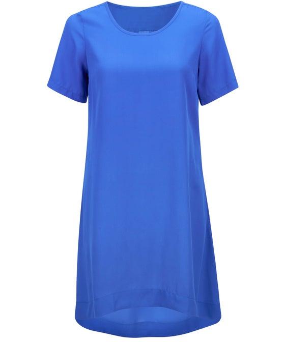 Women's Short Sleeve Dropped Hem Dress