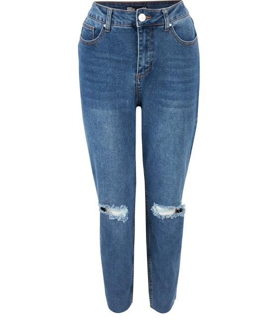 Women's Skinny Ripped Jean
