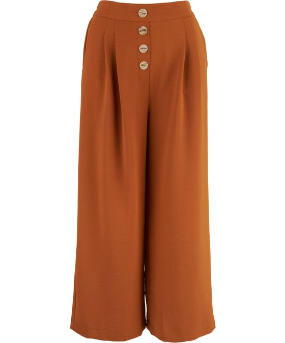 Women's Textured Soft Suiting Culotte
