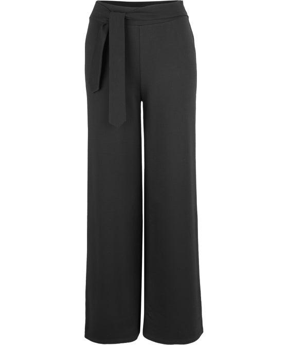 Women's Tie Waist Ponte Pant