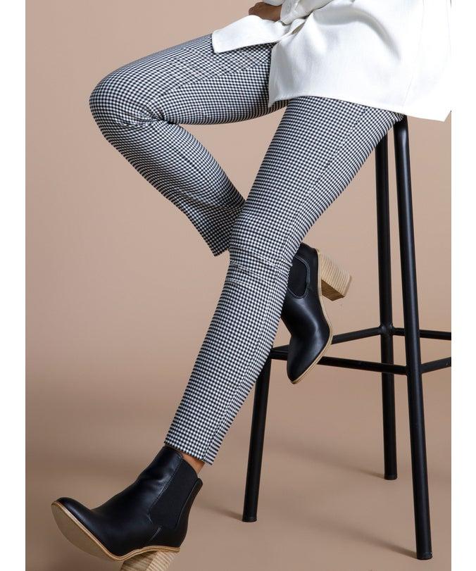 L Zip Side Skinny Pant