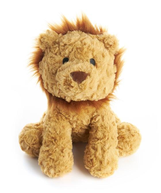 Lion Textured Plush Toy