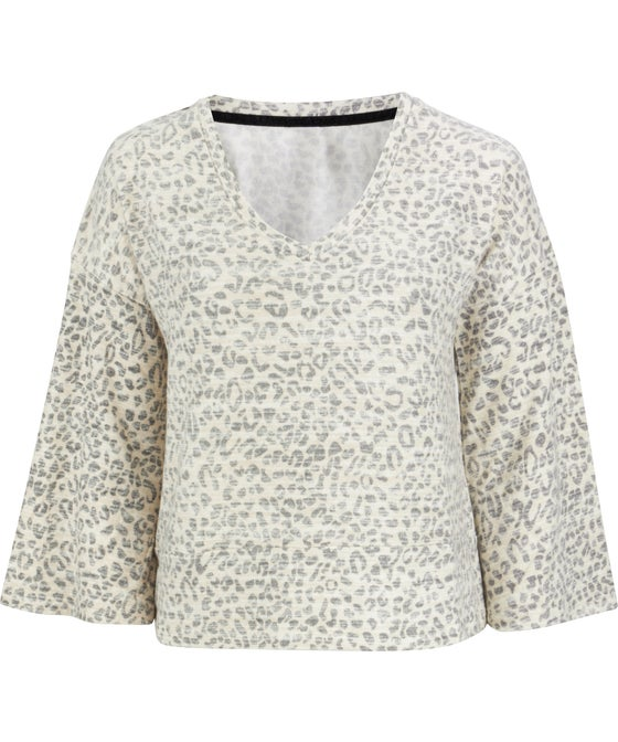 Women's Soft Flare Sleeve Top