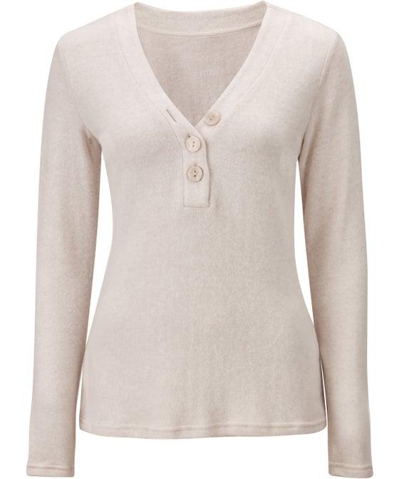 Women's Super Soft Button Up Top