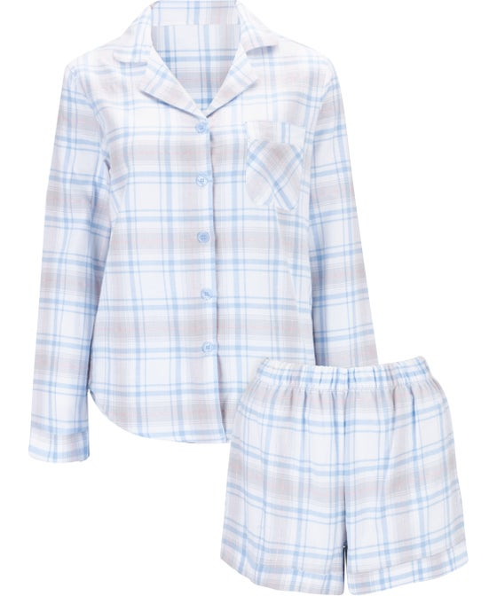 Women's Brushed Cotton Short PJ Set