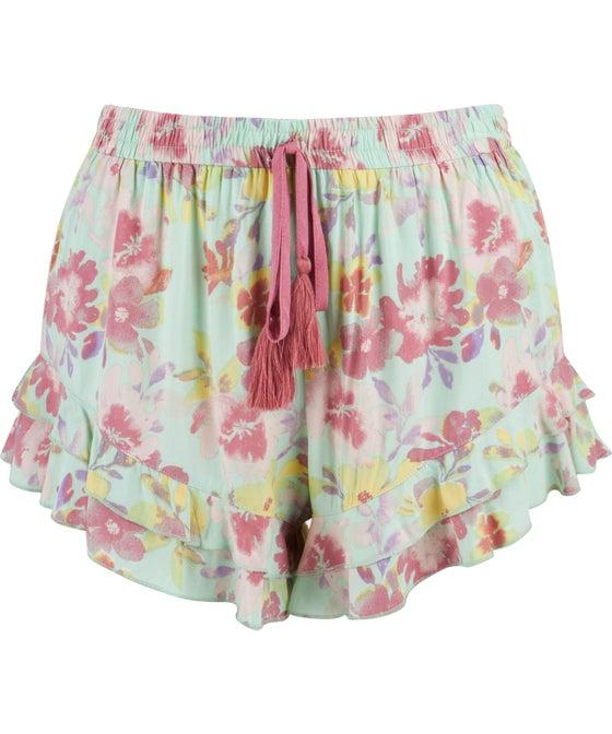 Women's Frilly Pyjama Shorts