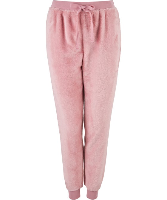 Women's Long Tapered Fluffy Pants