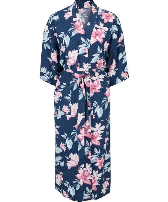 Women's Midi Length Kimono Robe