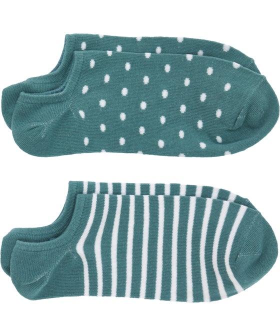 Women's 2 pack No Show Socks