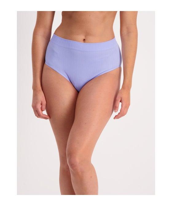 Women's Seam Free Rib High Waist Bikini