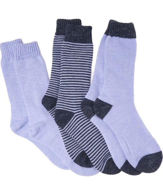 Women's 3 Pack Thermal Socks