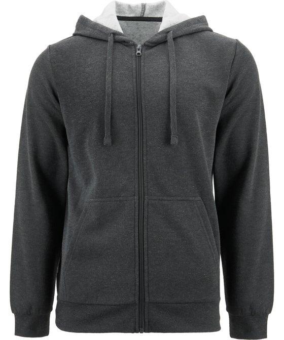Mens' Favourites Zip Through Hoodie