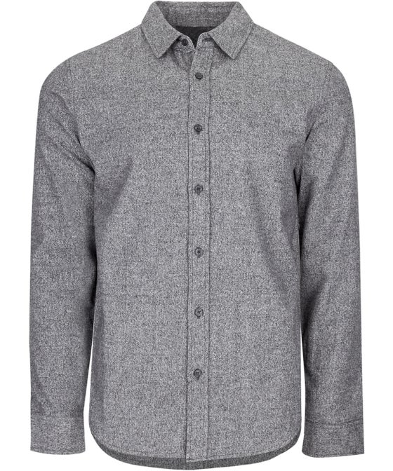 Men's Long Sleeve Brushed Marle Shirt