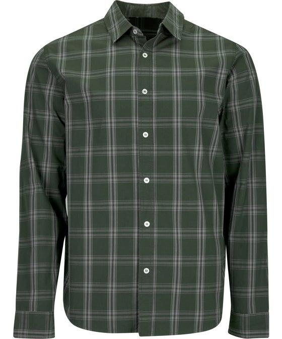 Mens' Long Sleeve Print Shirt