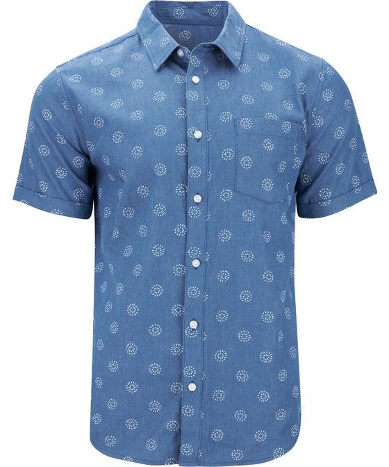 Men's Short Sleeve Chambray Shirt