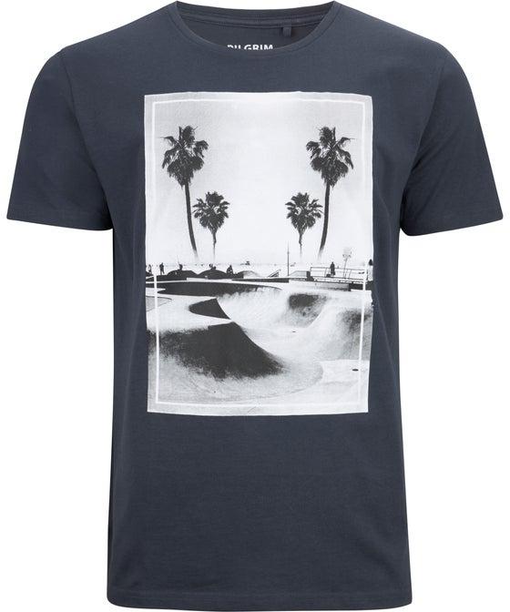 Mens' Print Front Cotton T-shirt