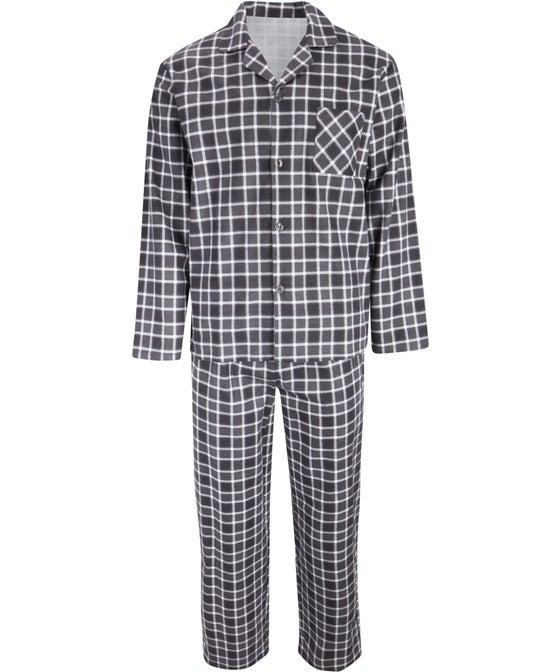 Mens' Brushed Flannel PJ Set