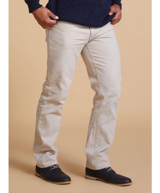 Mens' Twill Straight Leg Jean