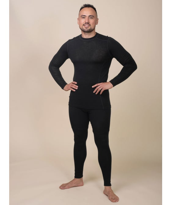 Mens' Crown Range Long Sleeve Merino Thermal Top