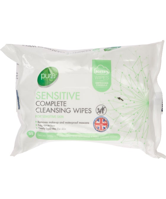 Pure Wipes - 25 sheets