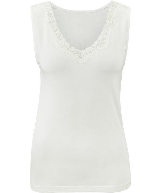Women's Edited Thermal Lace Vest